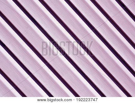 Violet Color Pvc Siding Wall.