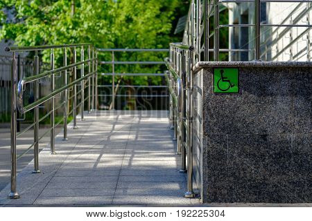 Equipped with outdoor access for the disabled people.
