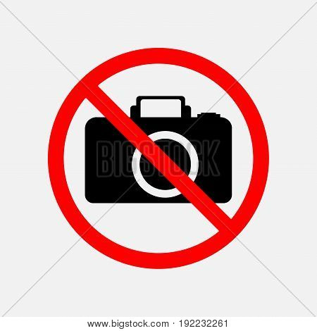 a sign can not be photographed no photos forbidden to take pictures  prohibited editable image