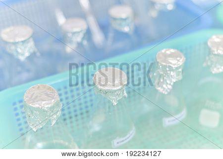 Glass Tube Laboratory Equipment