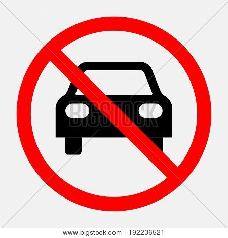 prohibiting sign travel is prohibited no parking no parking area fully editable image