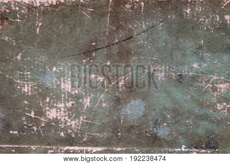 Grungy Weathered Paper Book Cover Surface.
