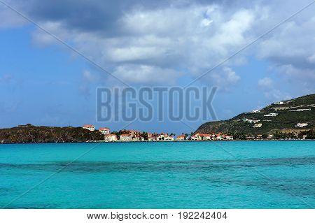 caribe sand beach houses ocean view tropical