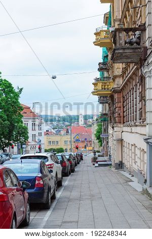 Streets And Architecture Of The Old Part