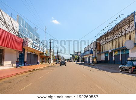 City Of Porto Velho During The Holiday Of Corpus Christi