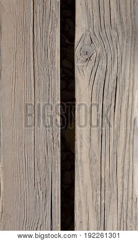 old Vintage wood background and texture in vertical