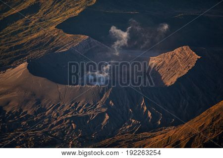 Mount Bromo Volcano During Sunrise
