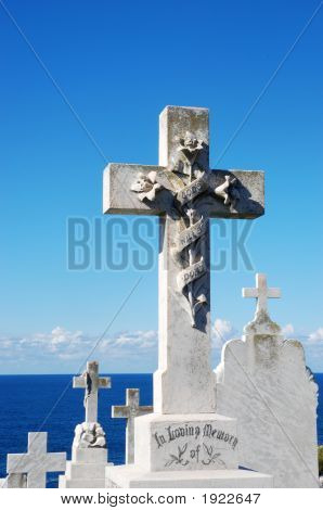 Cemetery With A Sea View