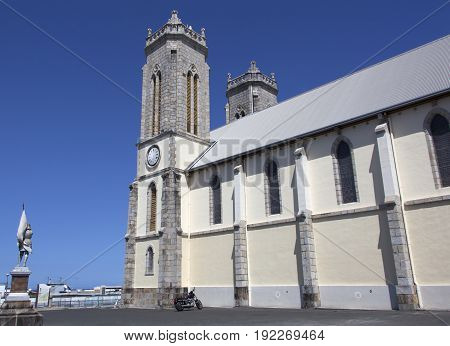 Saint Joseph's Cathedral in the city of Noumea the capital of New Caledonia.