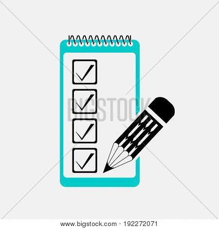 filling in the form checklist mark editable image
