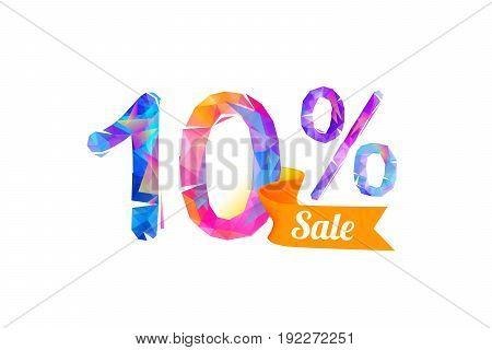 10 (ten) Percents Sale
