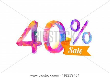 40 (forty) Percents Sale