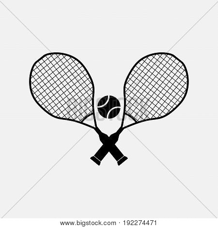 icon tennis entertainment sports fully editable image