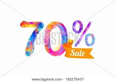 70 (seventy) Percents Sale