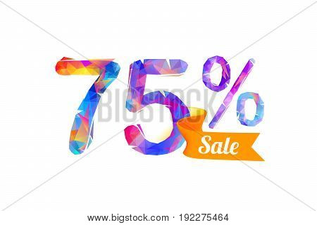75 (seventy Five) Percents Sale