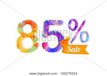 85 (eighty Five) Percents Sale