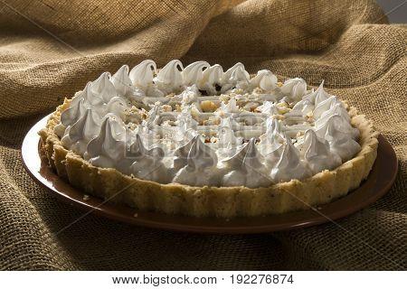 Cupuacu Cake - Traditional Dessert In Northeastern Brazil