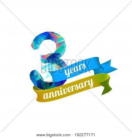 3 (three) Years Anniversary.