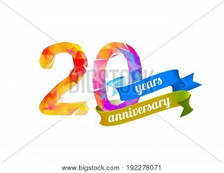 20 (twenty) Years Anniversary.