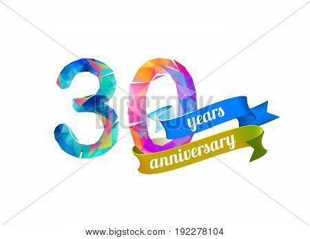 30 (thirty) Years Anniversary.