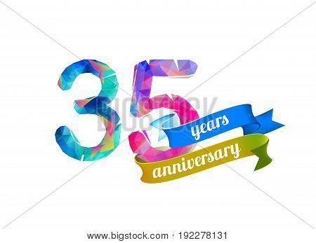 35 (thirty Five) Years Anniversary.