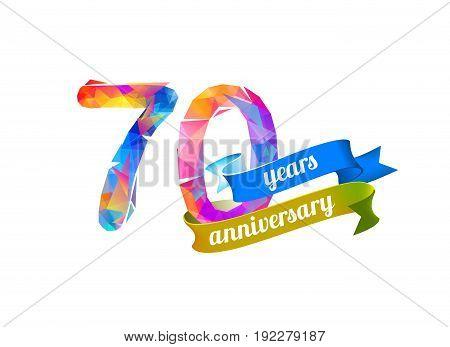 70 (seventy) Years Anniversary.