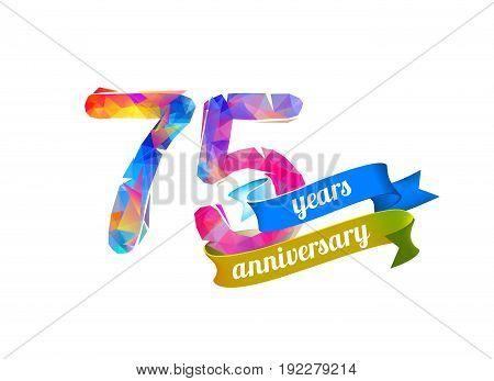 75 (seventy Five) Years Anniversary.