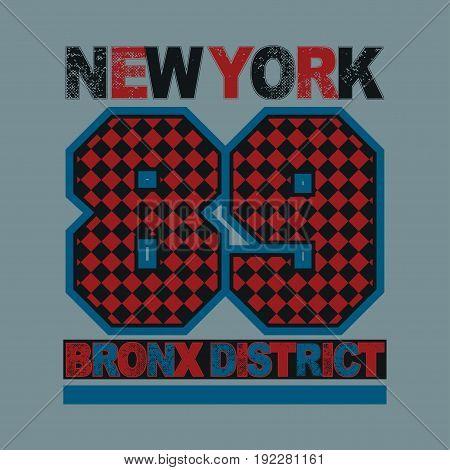 sport new york typography t-shirt graphics image print sport