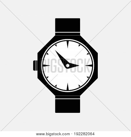 icon watches marking time fully editable image