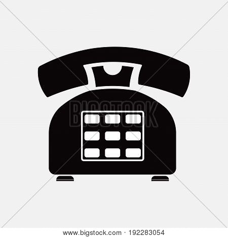 phone icon retro old means of communication fully editable image
