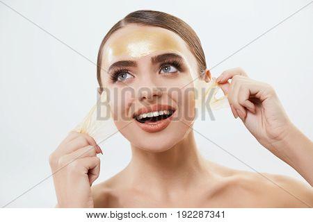 Girl With Yellow Mask