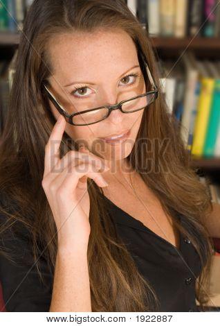 Attractive Librarian