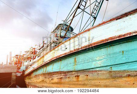 Big Wood Fishery Boat