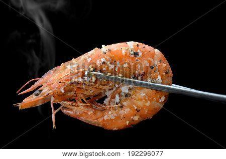 Grill Shrimp Bbq Style