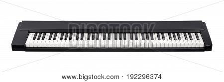 Midi Electric Piano On White Background