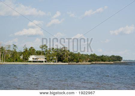 Raised House On Lake Pontchartrain