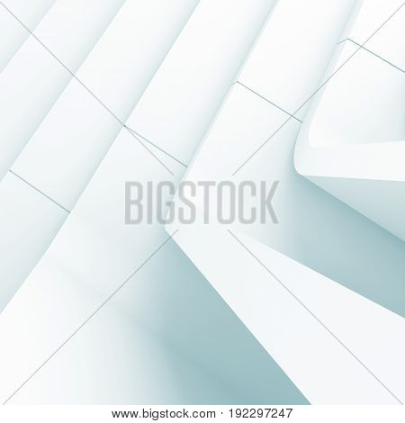 3D Blue Toned Abstract Cg Background