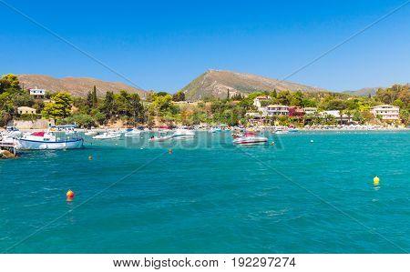 Agios Sostis. Landscape Of Zakynthos Island