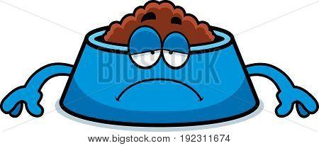 Sad Cartoon Dog Bowl