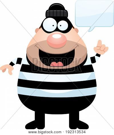 Cartoon Burglar Idea