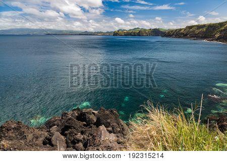 North Shore Near Santo Antonio At Sao Miguel Island