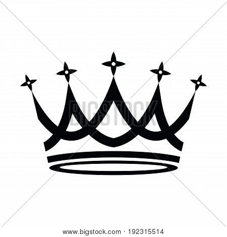 Crown Icon in trendy flat style isolated on white background. Vector illustration