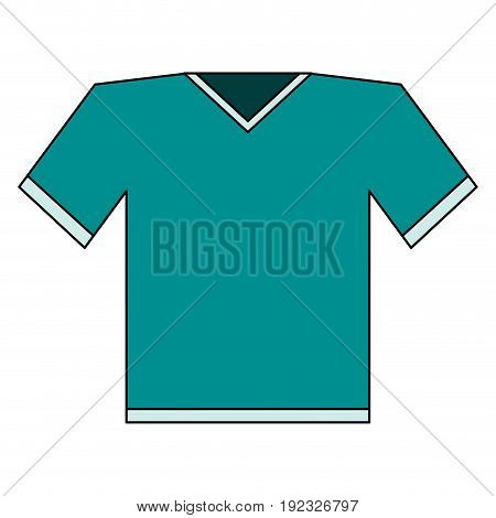 shirt clothe sport icon vector illustration design image