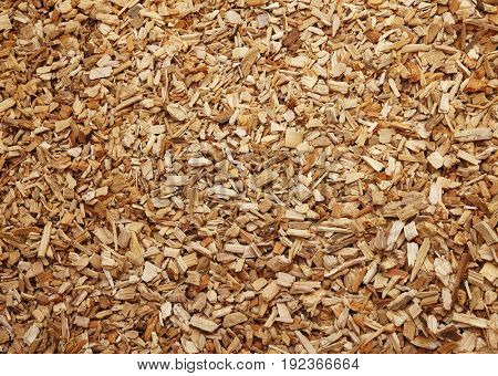 bark mulch, wood chips
