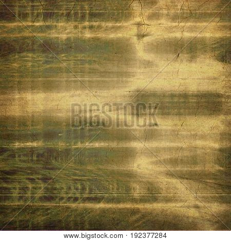 Retro vintage style background or faded texture with different color patterns: yellow (beige); brown; gray; green
