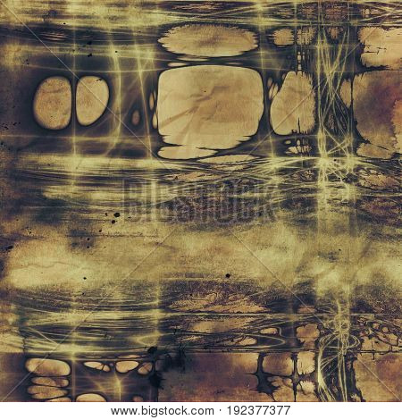 Abstract distressed grunge background. With different color patterns: yellow (beige); purple (violet); brown; gray; black