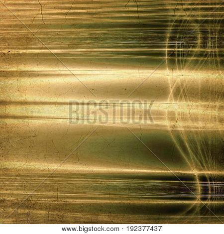 Grunge abstract textured background, aged backdrop with different color patterns: yellow (beige); brown; gray; green