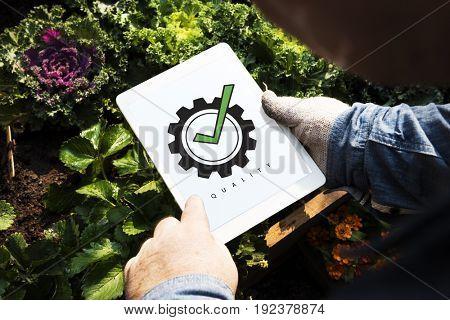 Best Quality Guarantee Assurance Concept