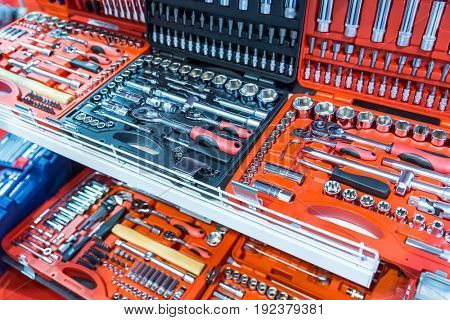 Professional toolboxes, toolkits for auto service
