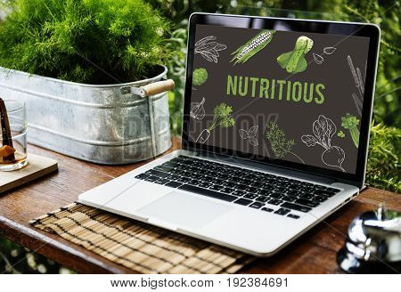 Natural vegetable healthy life superfood